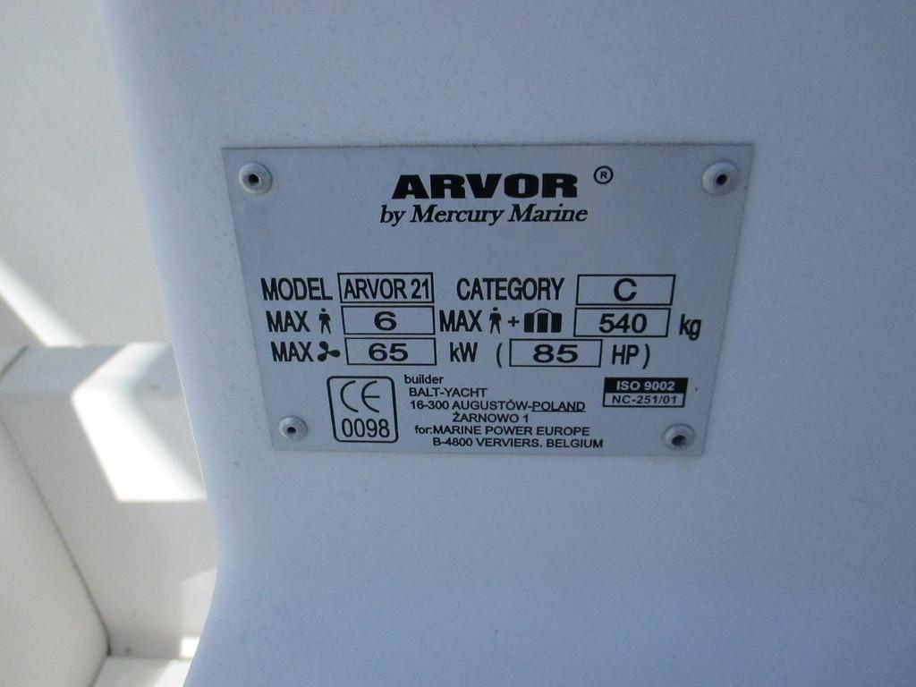 Quicksilver ARVOR 21 2003