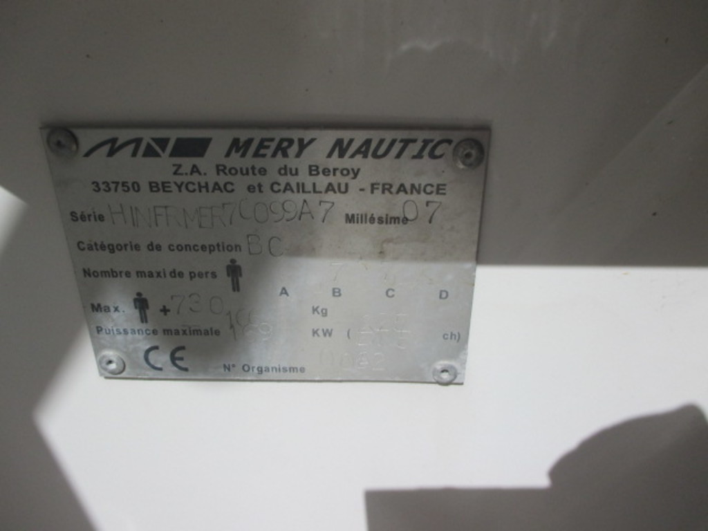 MERRY NAUTIC BELISAIRE 700 2006