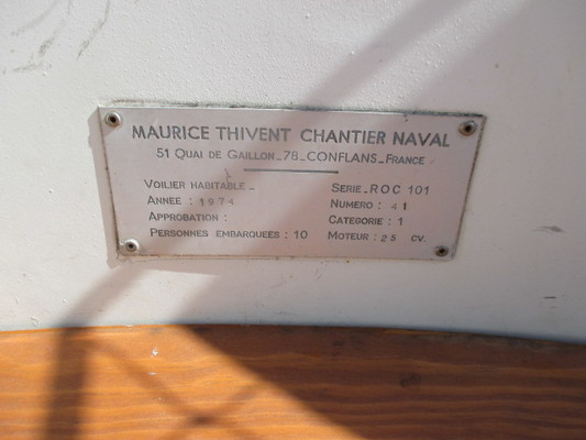 Maurice Thivent ROC 101 1974
